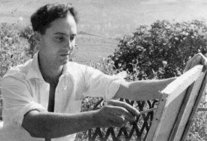 olivier debré - portrait 1951 ca