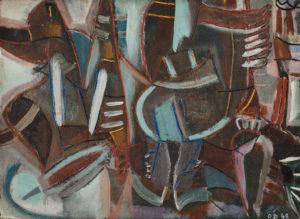 olivier debre - untitled 1948 newsletter art comes to you 18