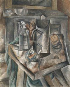 pablo picasso - peinture le bock 1909