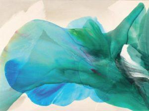 paul jenkins - painting phenomena kwan yin 1969