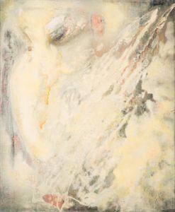 paul jenkins - painting snow owl 1955