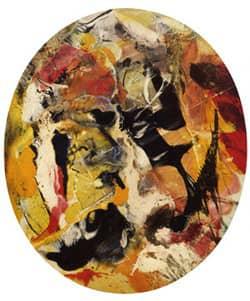 paul jenkins - peinture pawnee 1958