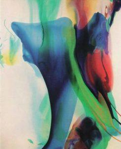 paul jenkins - peinture phenomena uranus burns 1966