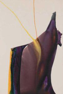 paul jenkins - peinture phenomena yellow strike 1963 1964