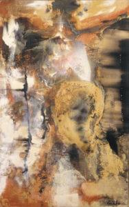 paul jenkins - peinture the archer 1955