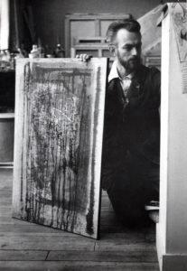 paul jenkins - portrait paris 1953