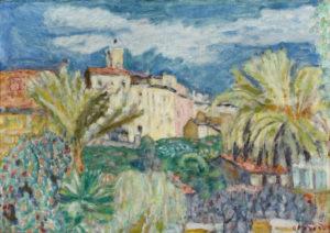pierre bonnard -vue du cannet c 1927 newsletter art comes to you 17