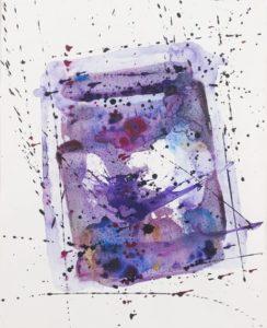 sam francis - untitled paper