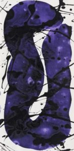 sam francis - untitled sf 83 100 1983 paper