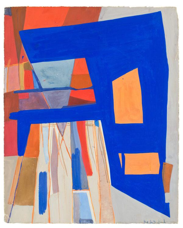 huguette arthur bertrand - gouache untitled c 1953