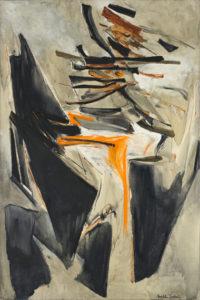 huguette arthur bertrand - peinture amers 1964