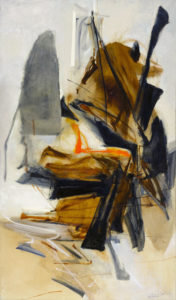 huguette arthur bertrand - peinture les ajoncs 1961