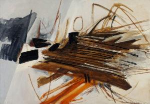 huguette arthur bertrand - peinture lohengrin 1961