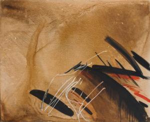 huguette arthur bertrand - peinture remous 1984 1986