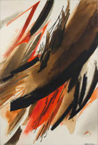 huguette arthur bertrand - peinture torrent 1980
