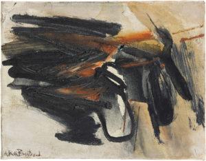 huguette arthur bertrand - sans titre 1960 huile