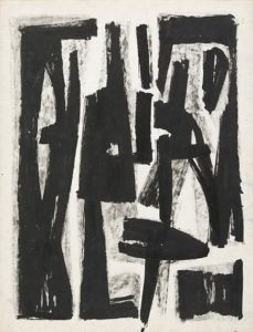lois frederick - paper untitled c 1950