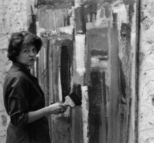 lois frederick - peintre les audigiers 1960
