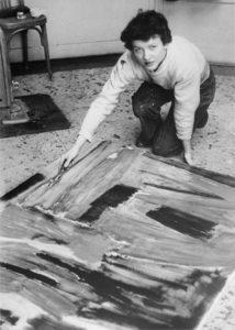 lois frederick - portrait atelier cite universaite paris 1955