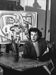 marie raymond - studio portrait paris c 1948