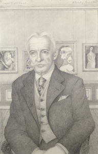 o brady - gertrude paper portrait roger dutilleul 1946