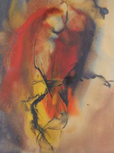paul jenkins - peinture eyes of the dove open spring 1959