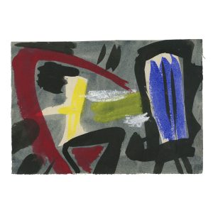 gerard schneider - c 1952 gouache papier eshop