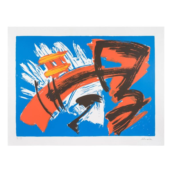 gerard schneider - sans titre 1975 1979 estampe lithographie e shop