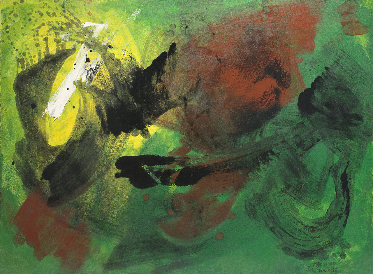 gerard schneider - untitled 1968 newsletter art comes to you 19