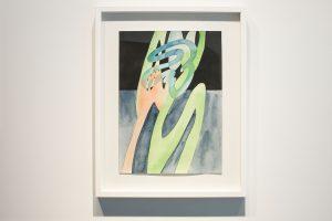guy de rougemont - aquarelle sans titre 2000 papier aquarelle