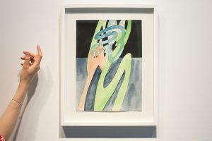guy de rougemont - aquarelle sans titre 2000 papier aquarelle simulation