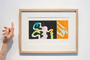 guy de rougemont - sans titre 2002 aquarelle papier simulation