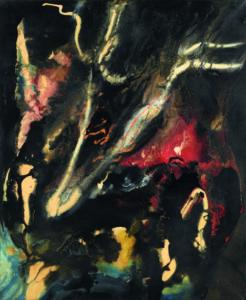 paul jenkins - east hoof 1959 painting