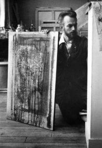 paul jenkins - portrait atelier