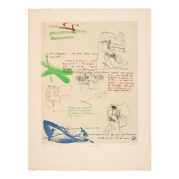 albert bitran - 1977 maurice laroche lithographie papier e shop