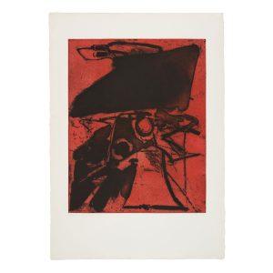 albert bitran - interieur exterieur 1974 lithographie papier e shop