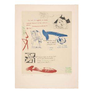 albert bitran - maurice laroche 1977 lithographie papier e shop