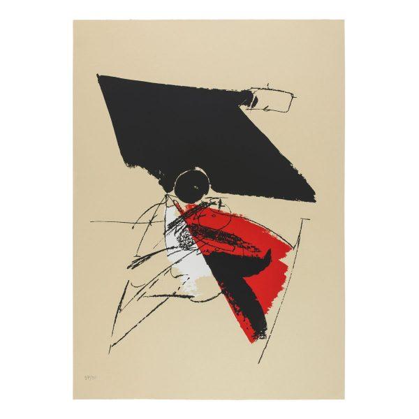 albert bitran - sans titre 1979 ca lithographie papier e shop