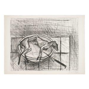 bernard buffet - lithographie le lapin 1955 e shop