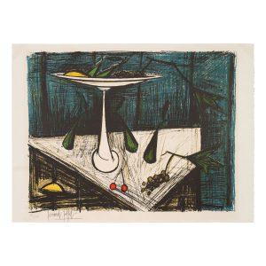 bernard buffet - lithographie nature morte 1980 ca e shop