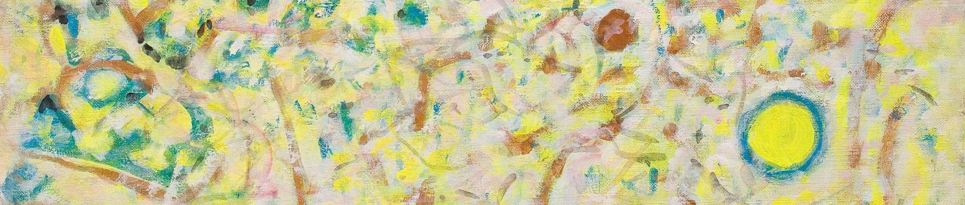 explosion de la couleur - exhibition diane de polignac gallery 2021