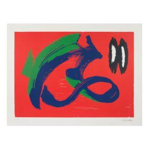 gerard schneider - sans titre 1975 1979 estampe serigraphie I XV e shop