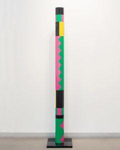 guy de rougemont - colonne 1976 sculpture exhibition 2021