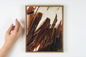 huguette arthur bertrand - josuah 1991 huile sur toile simulation 2