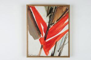 huguette arthur bertrand - jour clair 1991 huile sur toile simulation 1