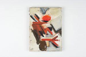 huguette arthur bertrand - sans titre 1965 huile sur toile simulation 1