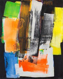 lois frederick - huile peinture 1975 exposition 2021