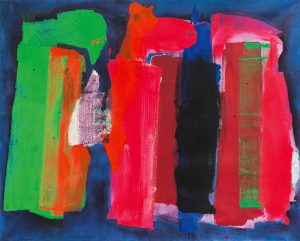 lois frederick - untitled 1973 painting
