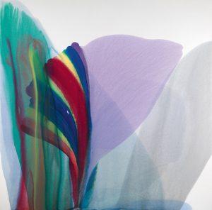 paul jenkins - phenomena spectrum dipper 1976 painting