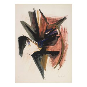 huguette arthur bertrand - lithograph untitled 1960 s e shop